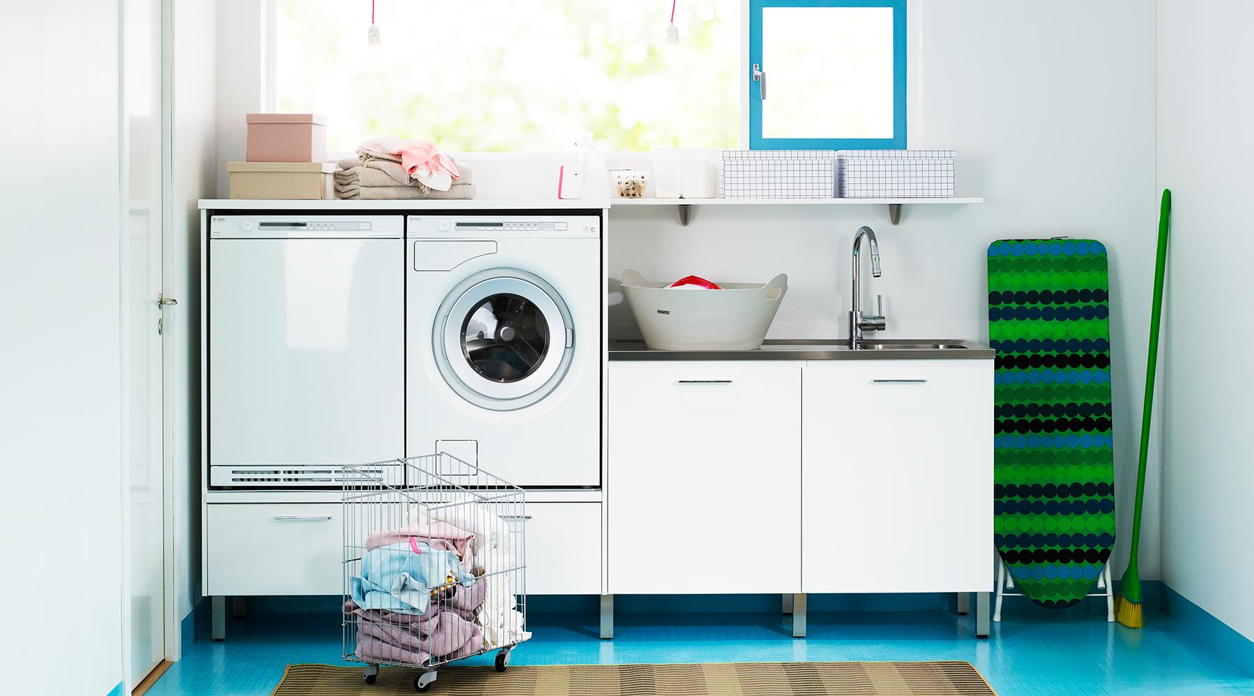 förvaring tvättstuga