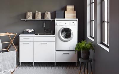 Badrum tvättstuga badrum : Tvättstugemiljöer - Nytt kök badrum och tvättstuga - Vedum kök och ...