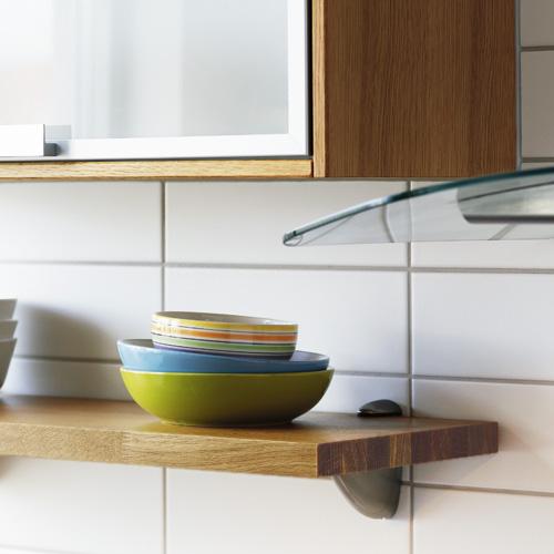 Natursten Till Kok : Vogghyllor i massiv trolamell 30 o Nytt kok badrum och