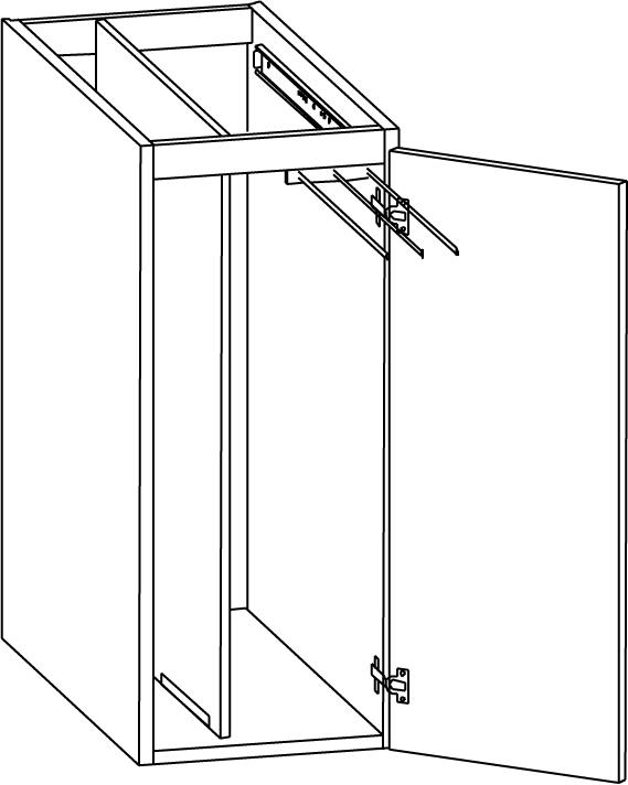 väggskåp kök mått : Komb brick handduksskåp 300mm – Nytt kök ...