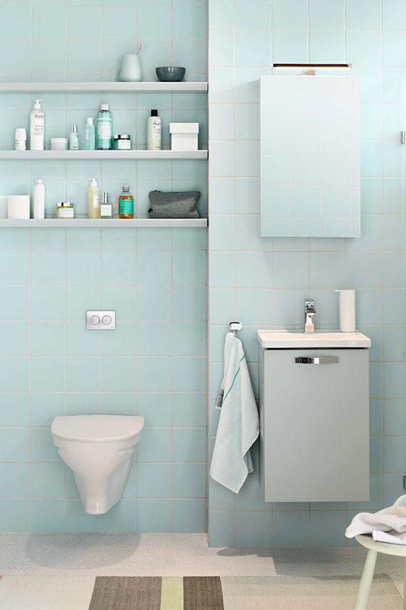 Trendig design för det lilla badrummet Nytt kök badrum och tvättstuga Vedum kök& bad AB