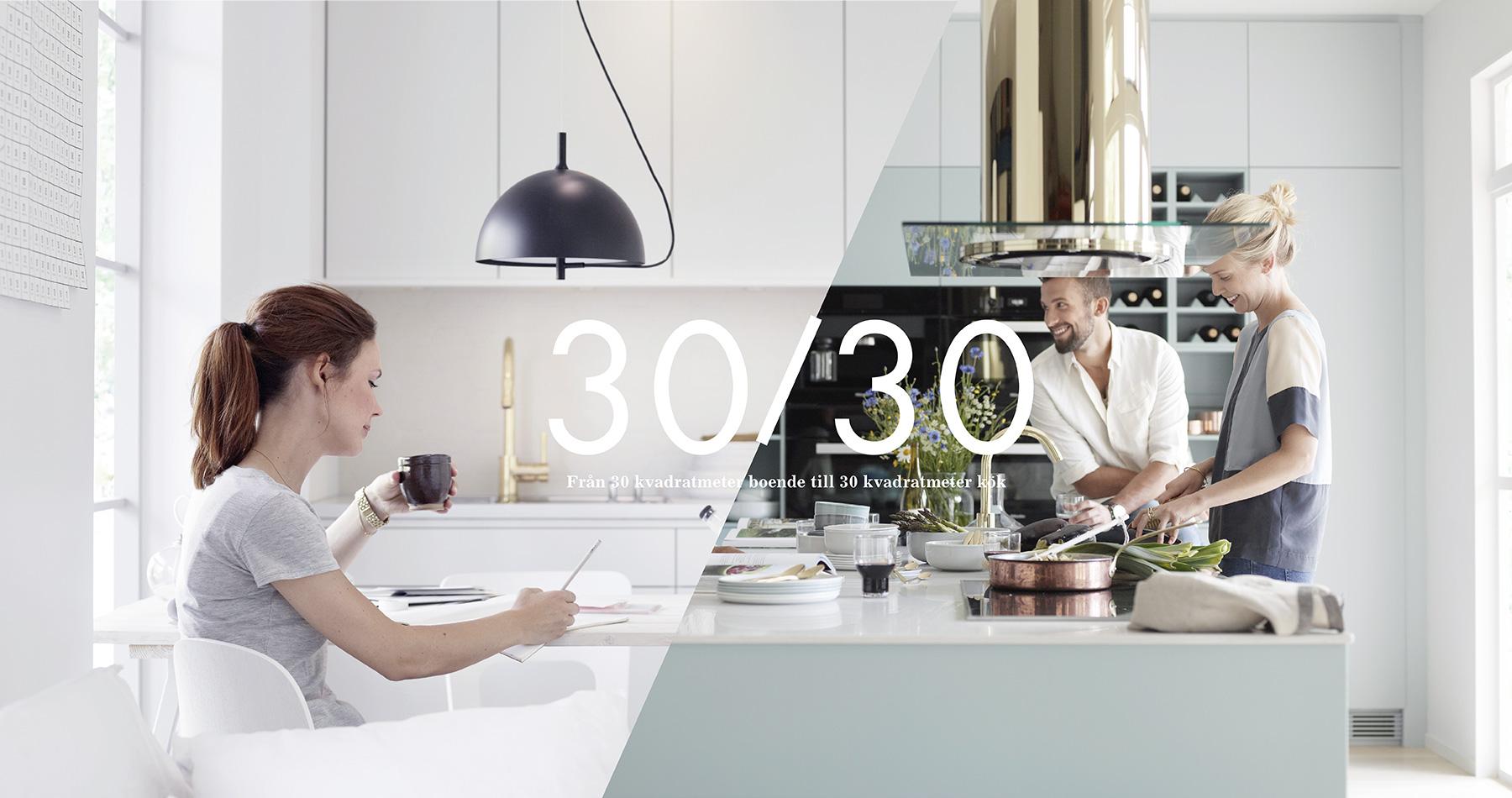 30 kvadratmeter levande kök   nytt kök badrum och tvättstuga ...