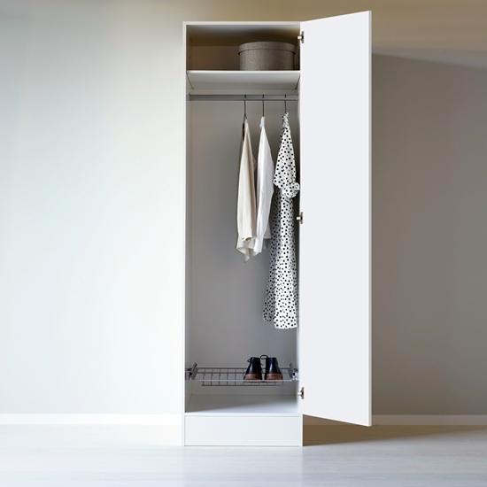 Garderob 600 höger stång skohyllaVedum kök och bad hitta tillbehör i vår webbshop