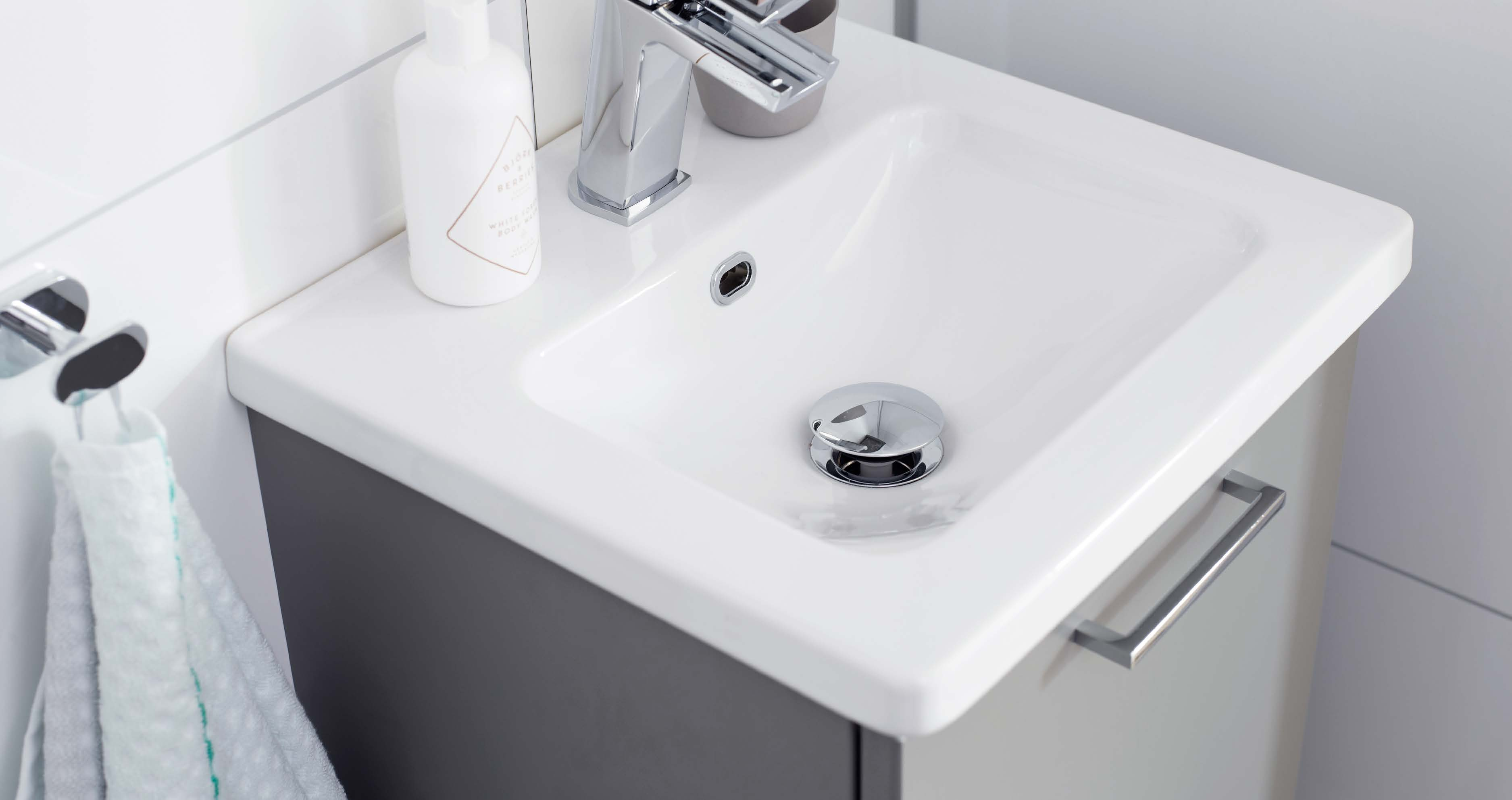 Trendig design för det lilla badrummet - Nytt kök badrum och ...