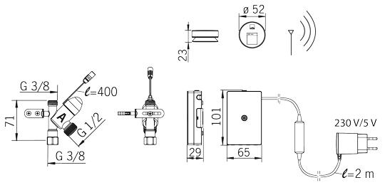 Avstängningsventil vatten elektrisk