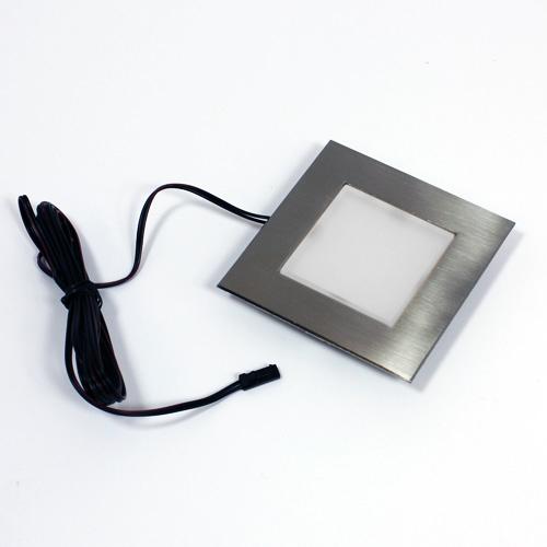 k?k > Belysningar > LEDarmaturer > Belysning LED Kvadrat rostfr