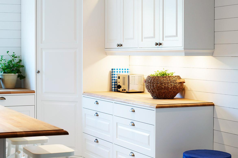 Rätt ljus i kök och badrum   nytt kök badrum och tvättstuga ...