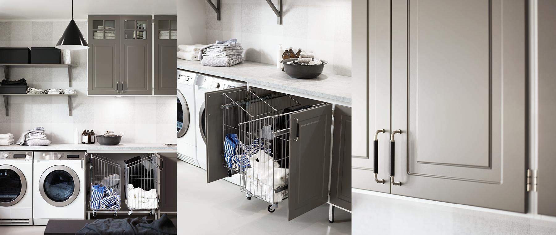 Ingrid målad kökslucka - Nytt kök badrum och tvättstuga - Vedum ...