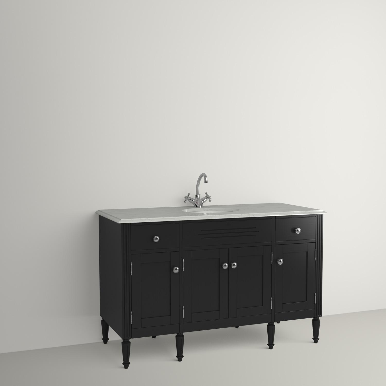 LOUIS KOMMOD 1260 SVART F70 - Nytt kök badrum och tvättstuga ...