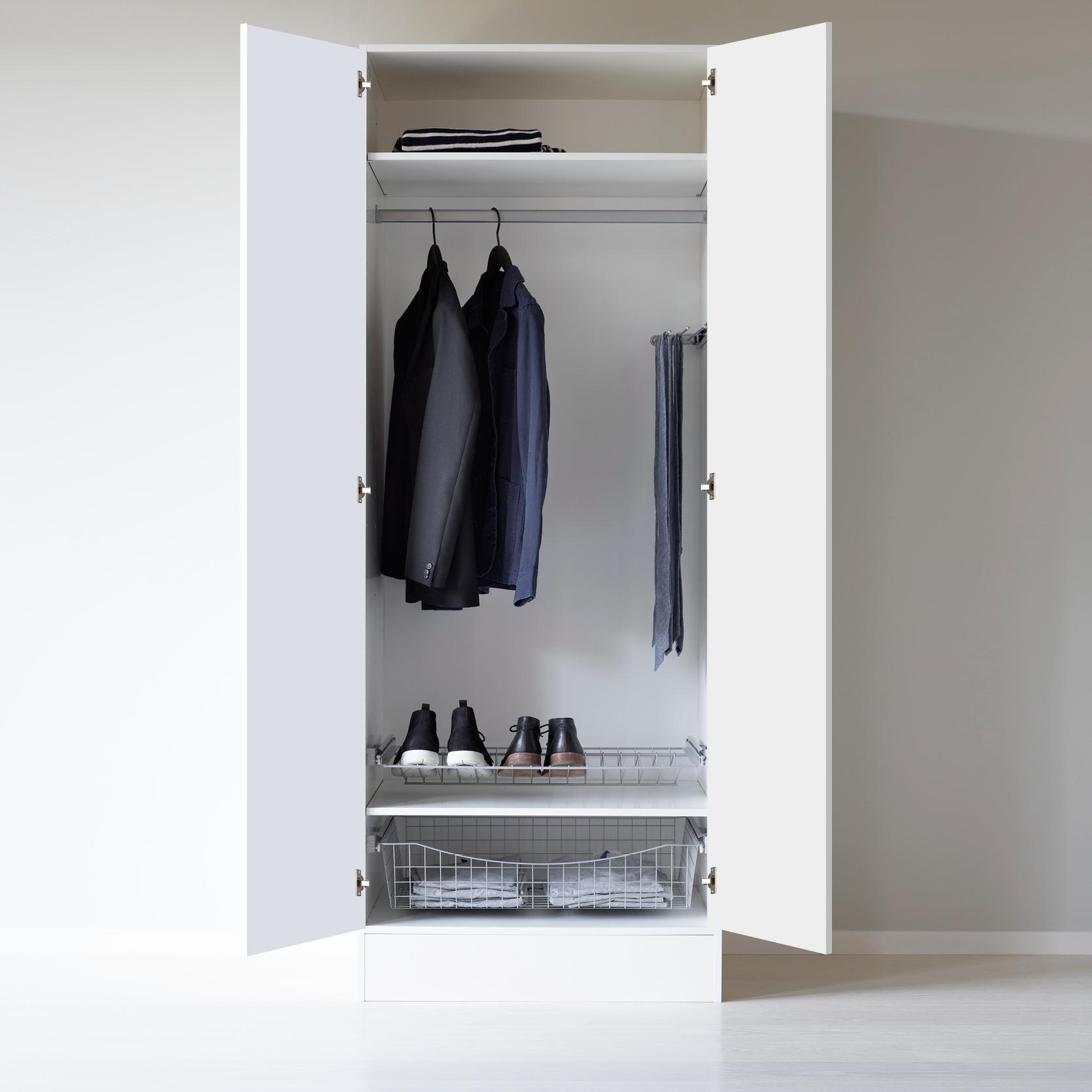 Underbar Garderob 800 skohylla trådback - Nytt kök badrum och tvättstuga JR-48